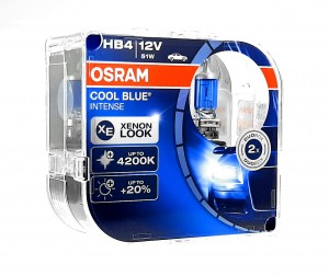 HB4 OSRAM COOL BLUE BOOST +50% DUO 5000K